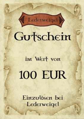 Gutschein für 100 EUR