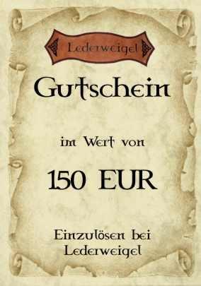 Gutschein für 150 EUR