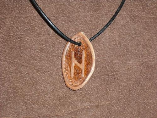 Runenamulet - Hagalaz