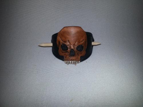 Haarspange – Skull