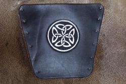 Armschutz - Keltisches Knotenmuster