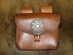 Tasche - Wikingerbeschlag