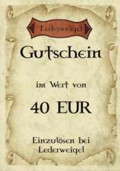 Gutschein für 40 EUR