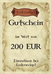 Gutschein für 200 EUR