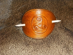 Haarspange  - Triskel
