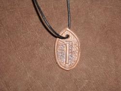 Runenamulett - Isa