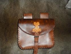 Tasche - Thors Hammer (mit Widderkopf)