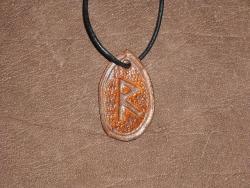 Runenamulet - Raidho