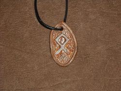 Runenamulet - Othala