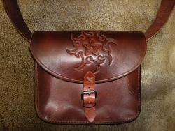 Tasche - Pentagramm braun