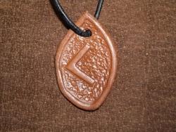 Runenamulet - Kenaz