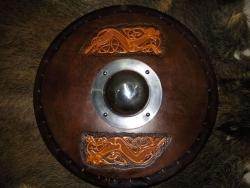 Kampfschild - Keltischer Hund