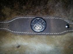 Weiches Armband - Ewiger Knoten ( keltischer Knoten)