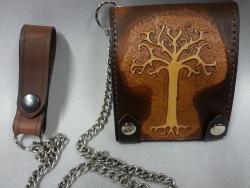 Biker Wallet - Baum des lebens