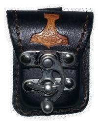 Etui für Zippo - Thor Hammer