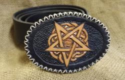 Wechselschnalle Pentagramm