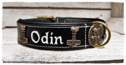 Hundehalsband - Modell Odin 2.0  (Name frei wählbar)